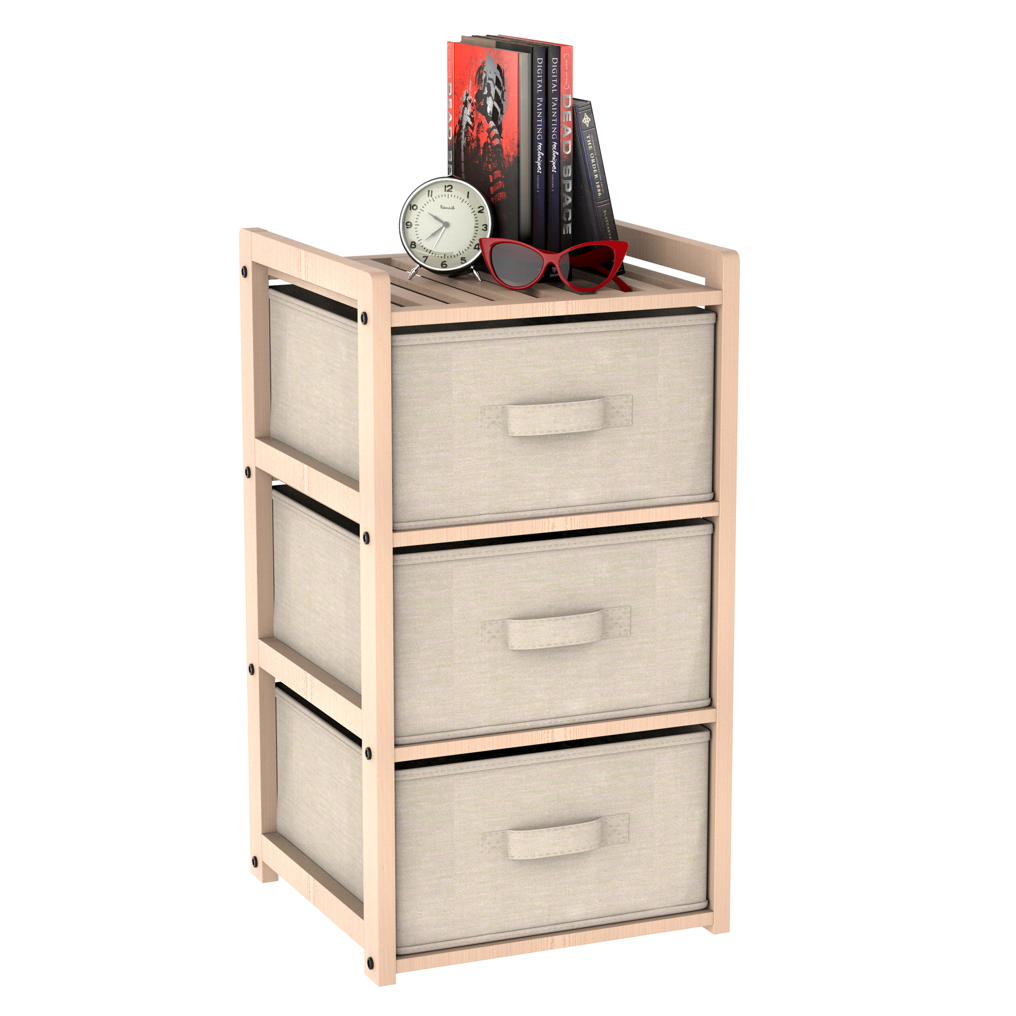 Drawer unit - 3d product model