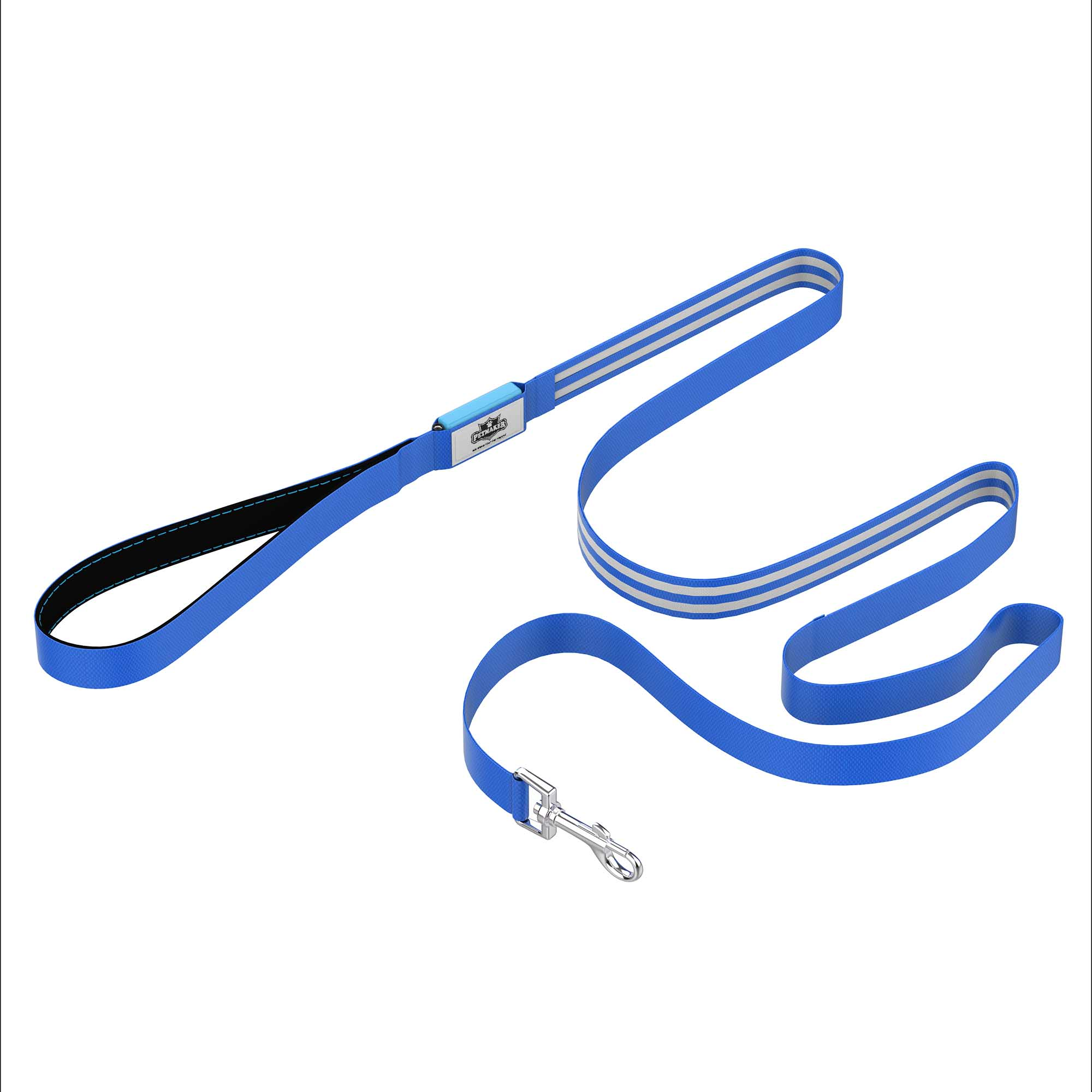 LED Dog Leash Blue