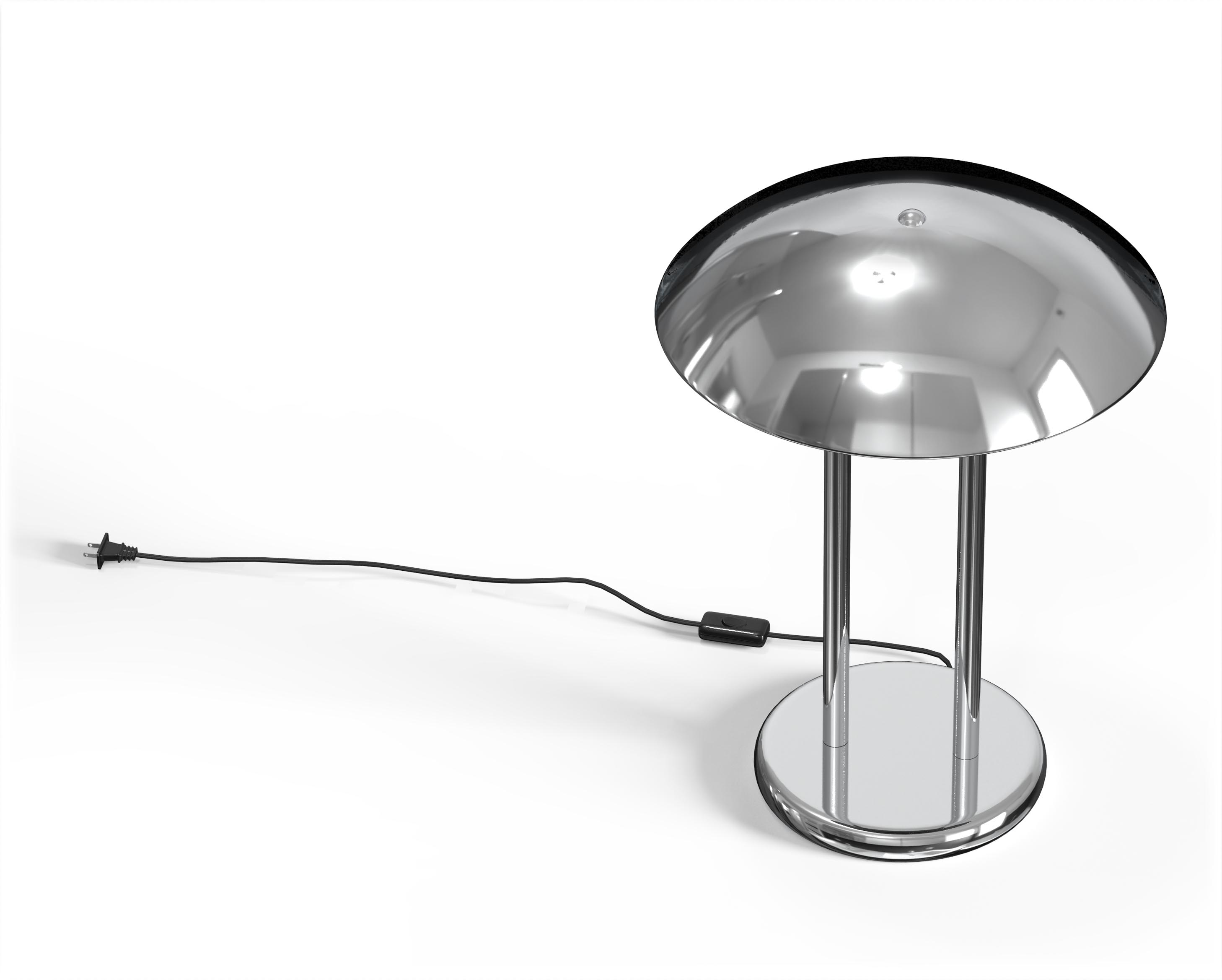 Chrome Dome Shaped Table Lamps 3D procuct