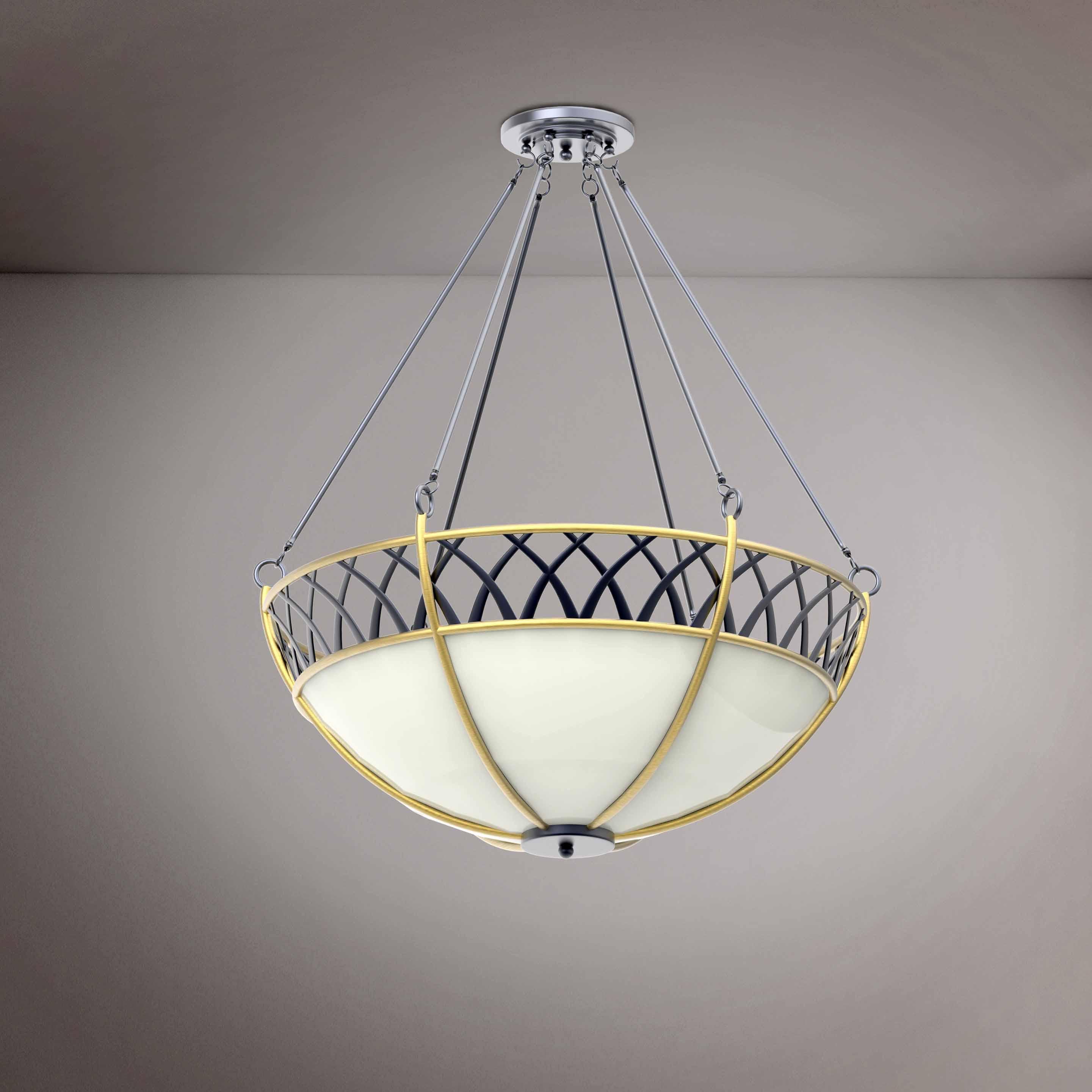 Round Elegant Luxury Chandelier - 3D Product