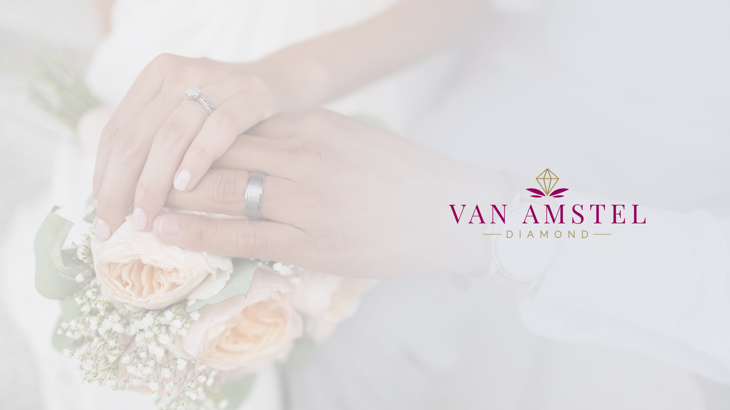 Van Amstel Logo Gentle Present Hands Lovely Design