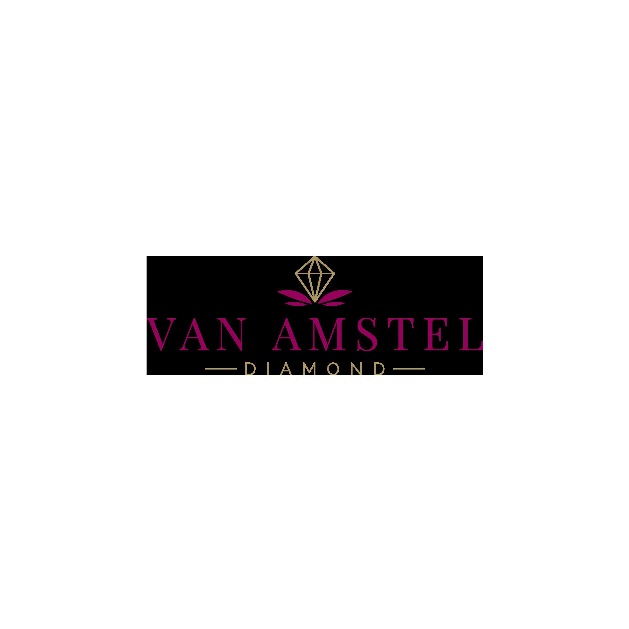 Van Amstel Clean Logo Design