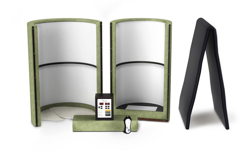 Home Sauna 3D Design Open