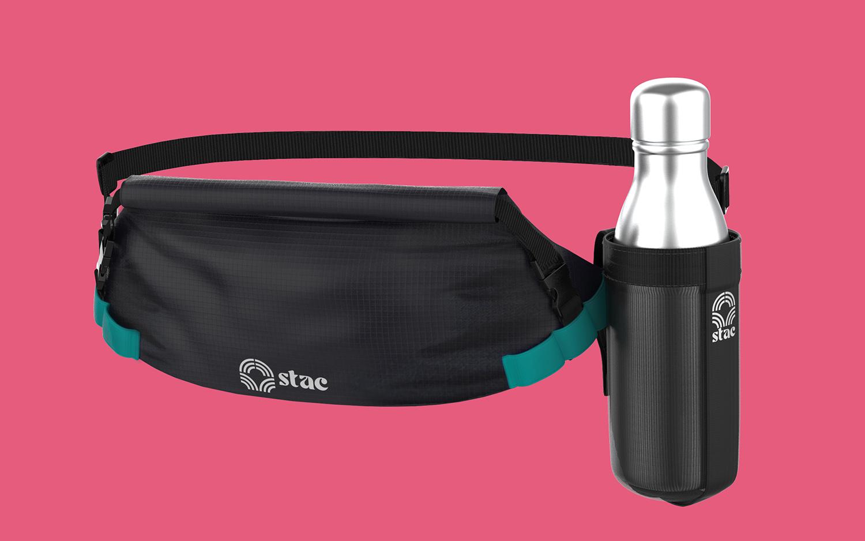 Stack Pack 3D Model 3D Model Design water bottle holder