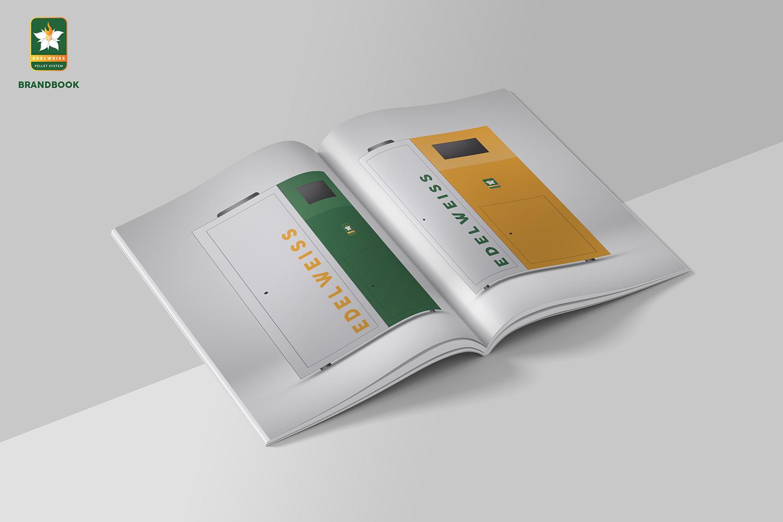 Edelweiss Brand Book Clear Minimalism Design