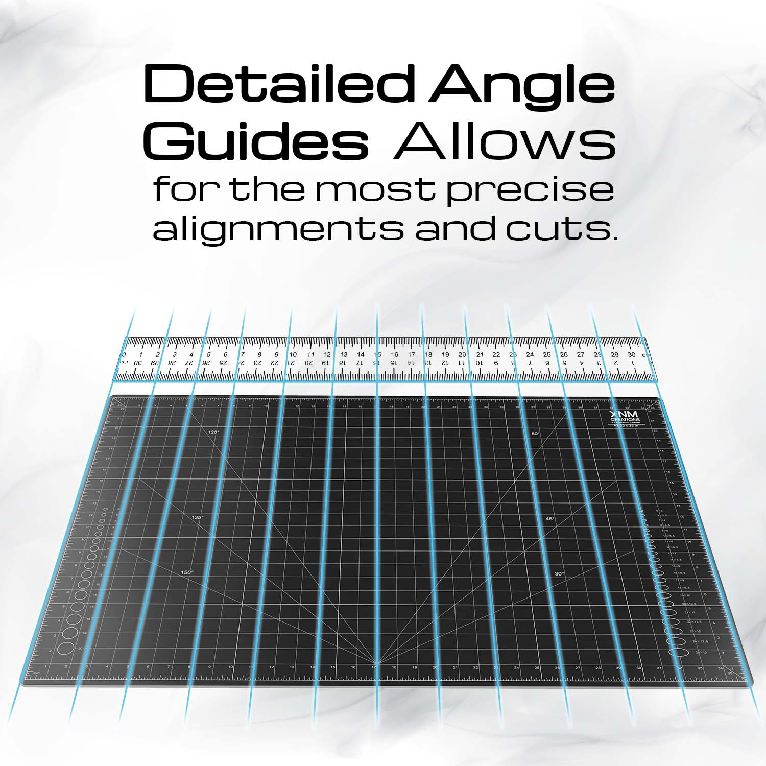 Cutting Board Detailed Angle Guides