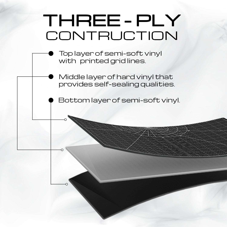 Cutting Board THREE - PLY  CONTRUCTION